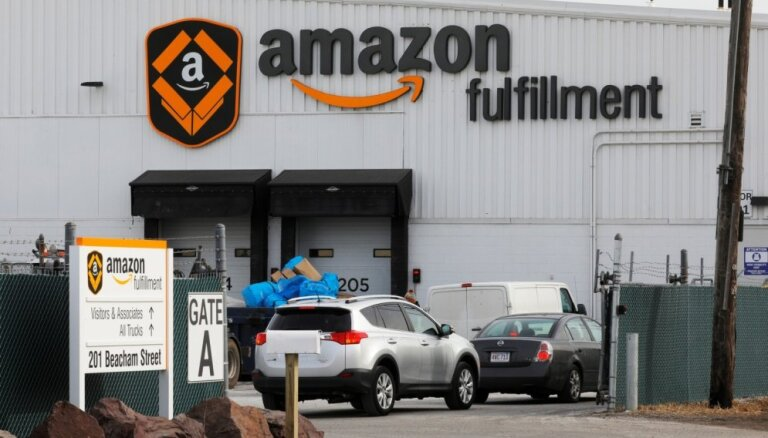 Sekojot 'Apple', arī 'Amazon' tirgus vērtība pārsniegusi triljonu dolāru