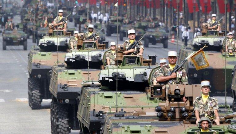 NATO aizsardzības izdevumi aug trešo gadu pēc kārtas