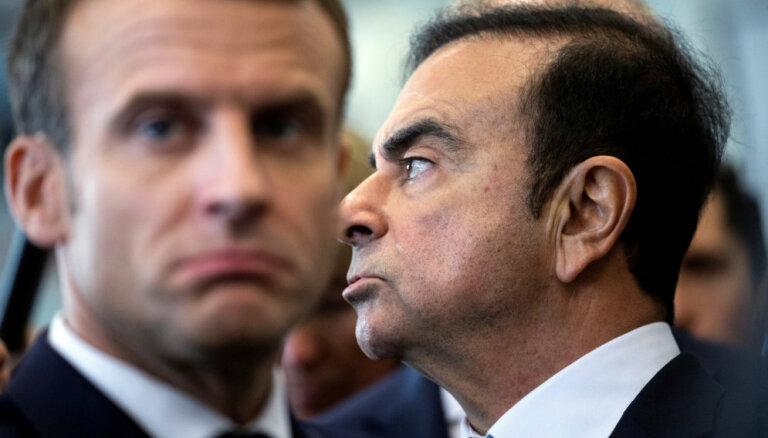 Francijas valdība aicina iecelt jaunu 'Renault' vadītāju