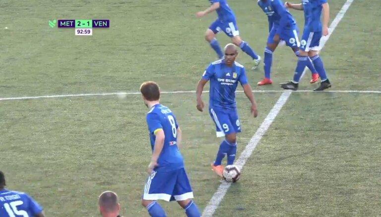 Video: 'Ir cilvēki, kuriem nesanāk' - 'Ventspils' futbolistiem nesekmējas atsākt spēli
