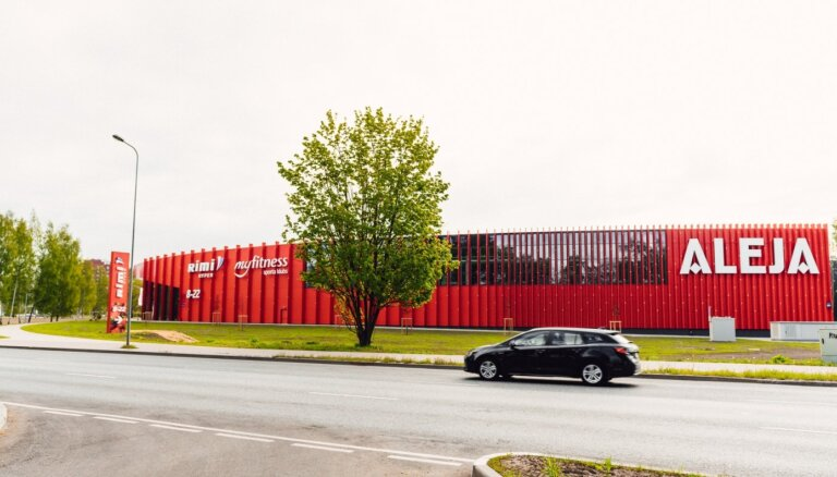 ФОТО: В Риге в Зиепниеккалнсе открылся торговый центр Aleja