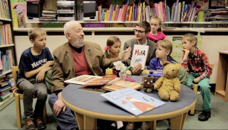 Izstādē 'Bērnu pasaule' varēs uzzināt, kā bērnu ieinteresēt lasīšanā