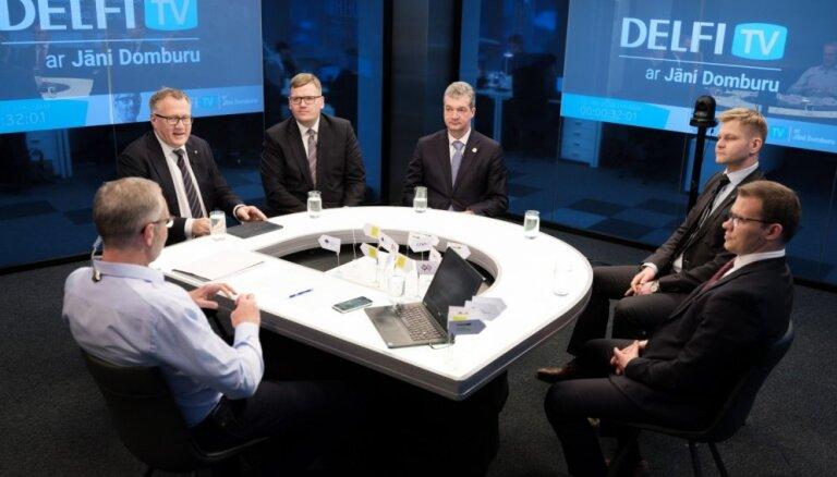 Krupja norīšana, ciešanu tēmas un laime – Kariņa valdības sarunvedēju diskusija