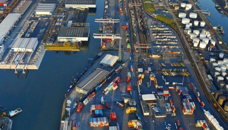 Крупнейший речной порт Европы оценивает возможности сотрудничества с Ригой и Вентспилсом