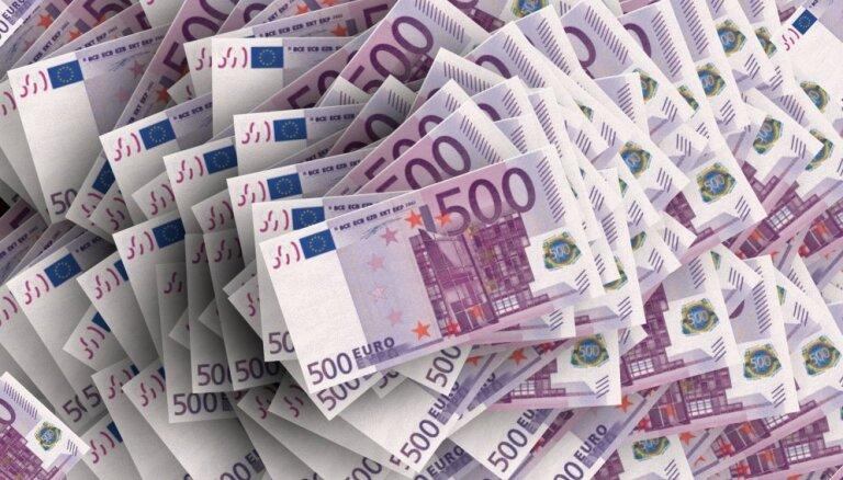 Eurostat: жители Латвии в 2017 году получили из-за рубежа 546 млн. евро