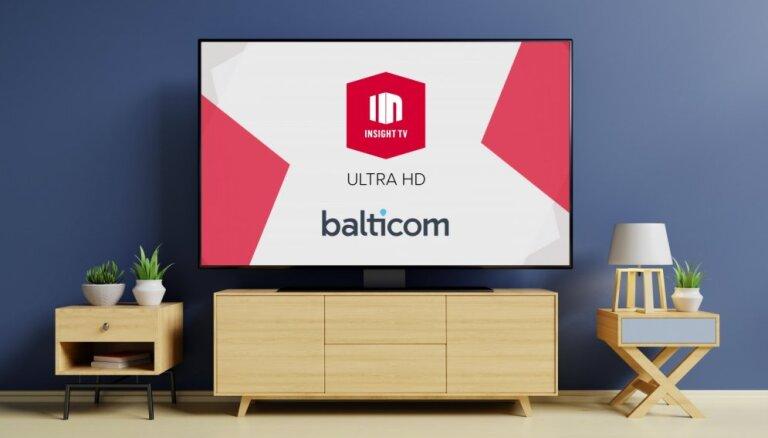 Balticom первым начнет показывать ТВ каналы в ULTRA HD качестве