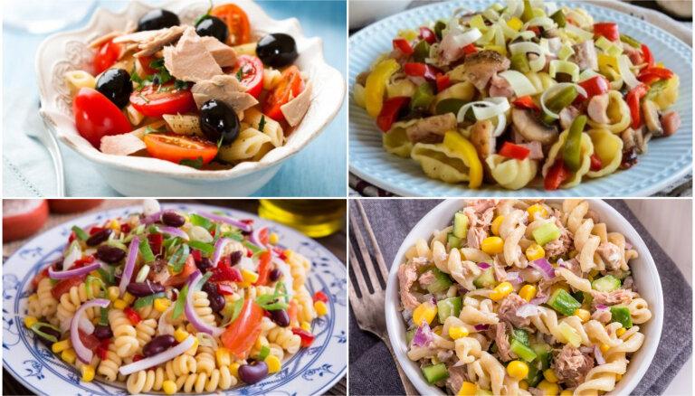 Vakariņas 20 minūtēs: makaronu salāti vasarīgām maltītēm bez liekām klapatām