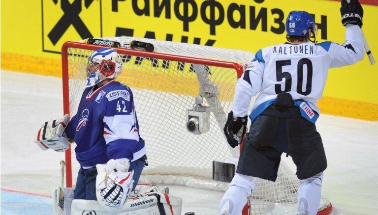 Somija ar grūtībām izcīna uzvaru pār Franciju