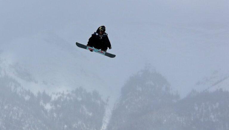 Sočos treniņos smagi cietis snovborda 'slopestyle' disciplīnas galvenais favorīts