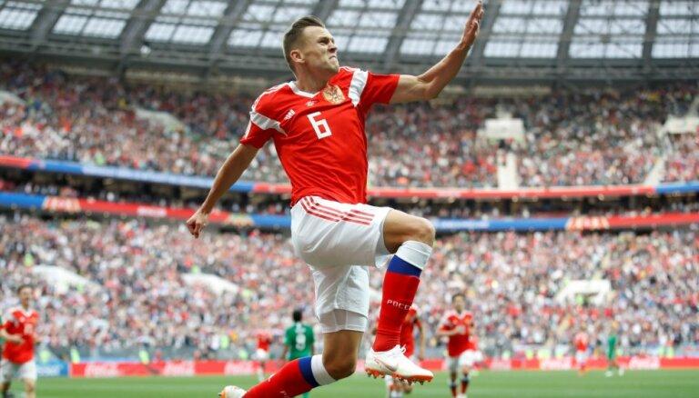 Эффектный гол россиянина Черышева — лучший момент первого игрового дня ЧМ-2018