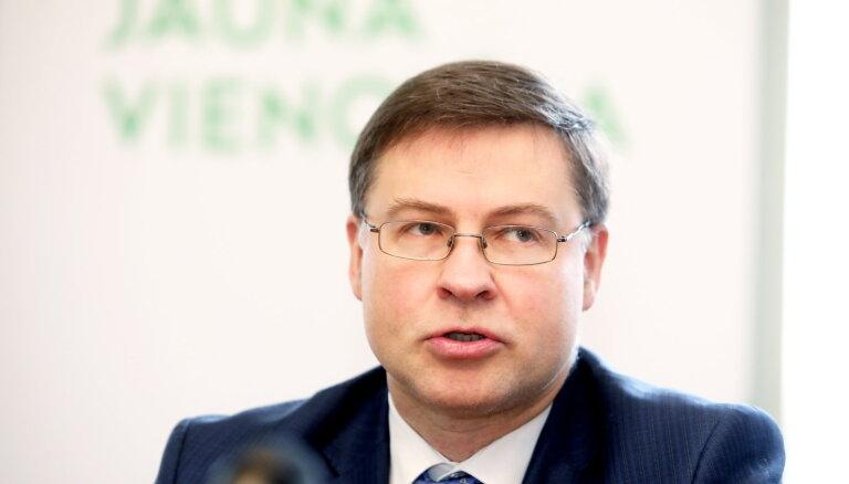 """""""Для развития/За!"""" поддержит кандидатуру Домбровскиса на должность еврокомиссара"""