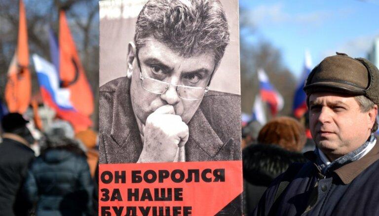 В Киеве сквер у посольства РФ назвали именем Бориса Немцова