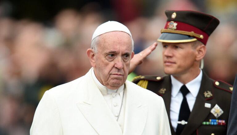 Папа римский сравнил педофилию с человеческими жертвоприношениями