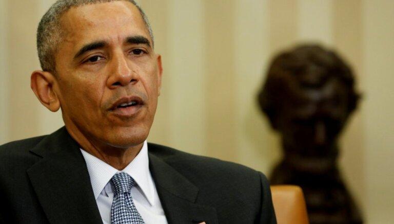 Obama kritizē ASV amatpersonu reakciju uz pandēmiju