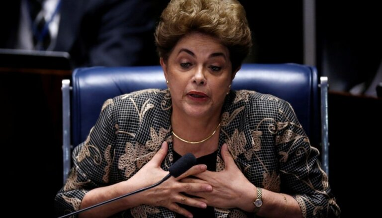 Дилма Русеф смещена с поста президента Бразилии