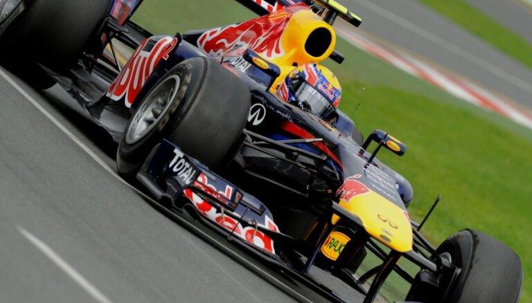'Red Bull' pilotiem dubultuzvara Dienvidkorejas 'Grand Prix' kvalifikācijā