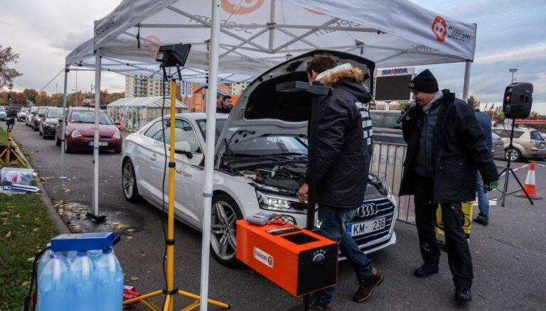 Kampaņā 'Pārsteidz ziemu' pārbaudīta vairāk nekā 650 auto gatavība ziemai