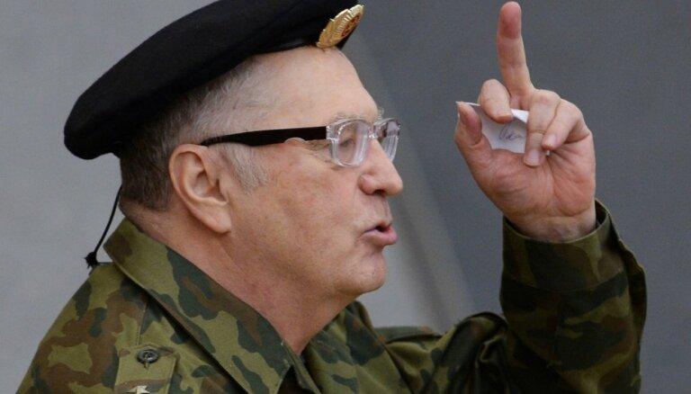 Жириновский официально стал первым кандидатом в президенты