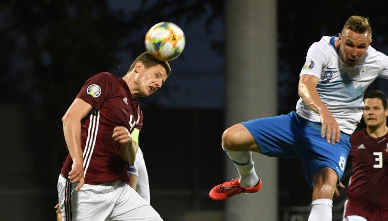 Latvijas futbola izlases kapteinis Dubra: ļoti ceru, ka šis mums būs zemākais punkts