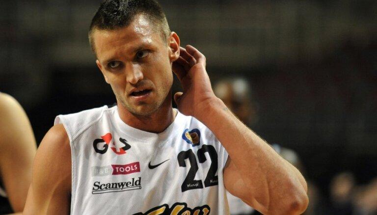 Freimaņa un Šķēles rezultativitāte neglābj 'Kalev' no zaudējuma VTB līgas mačā