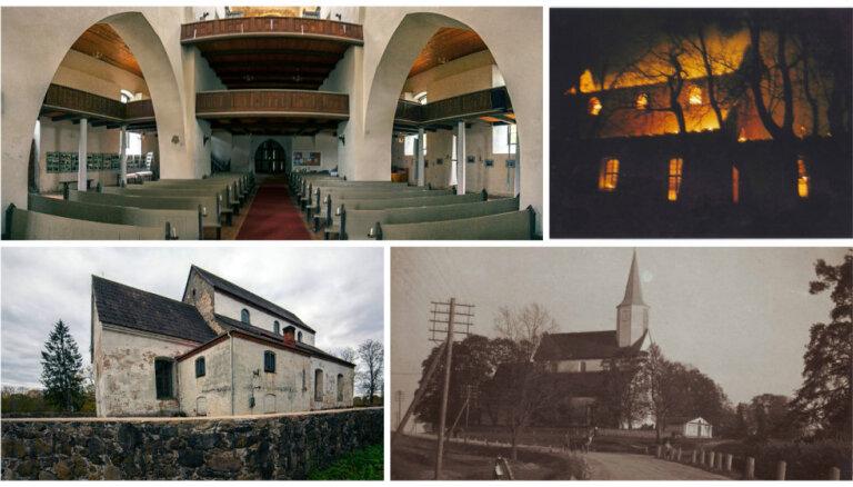 Ceļojums laikā: Rūjienas baznīcas skaudrais ceļš uz atdzimšanu