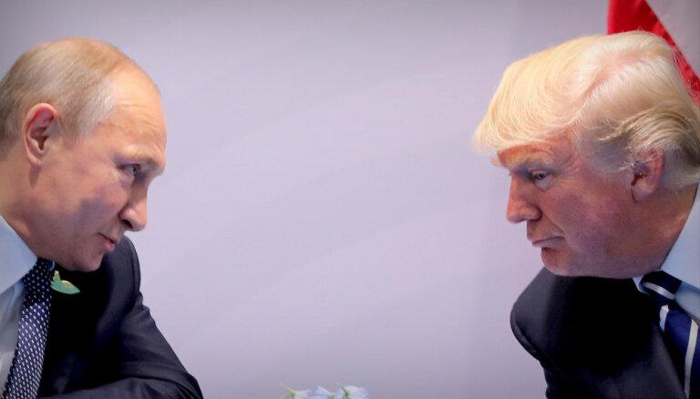 Tramps netiksies ar Putinu, kamēr Krievija nebūs atdevusi Ukrainas kuģus