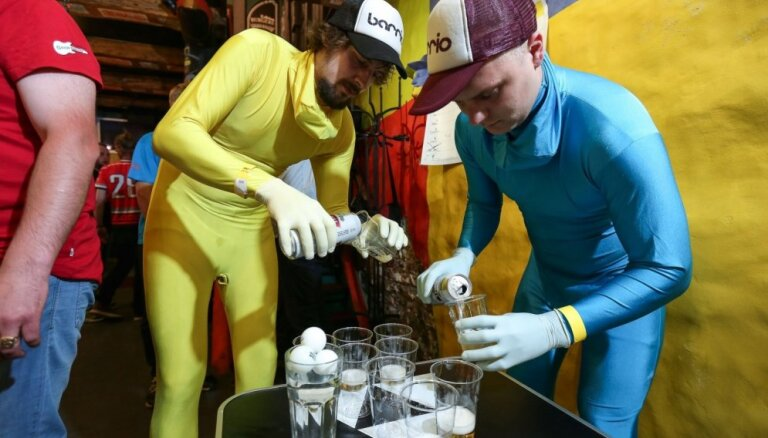 Likvidēs Latvijas 'Beer Pong' federāciju