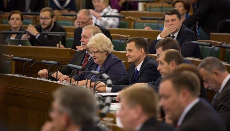 Депутатам Сейма на транспорт и аренду жилья в ноябре выплачено 16 600 евро