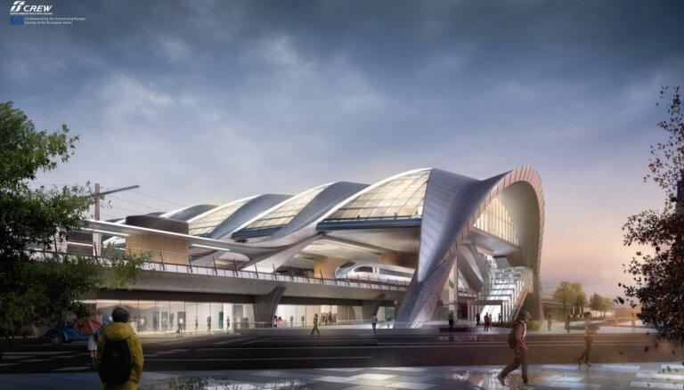 Pie centrālās stacijas radīs sajūtu par Rīgu kā piejūras valsts galvaspilsētu