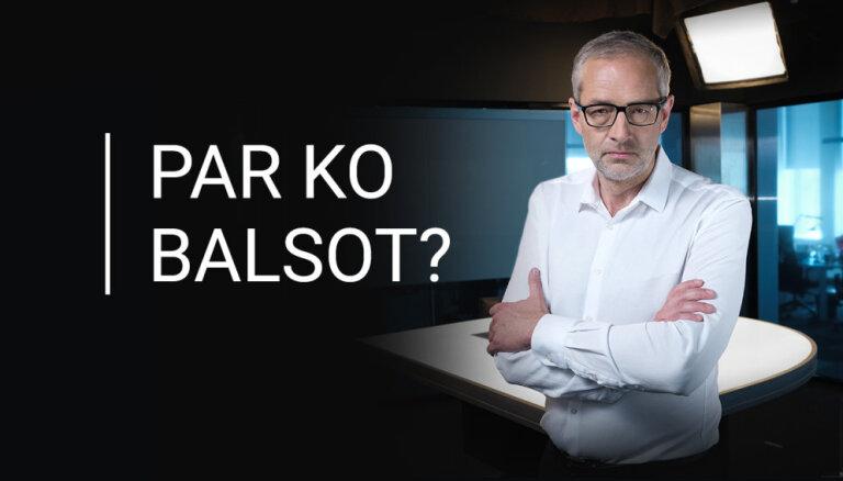 No 1. līdz 4. oktobrim ciklā 'Par ko balsot' – intervijas ar populārāko partiju līderiem