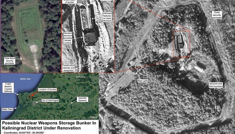 Kaļiņingradā tiek pārbūvēts kodolieroču bunkurs