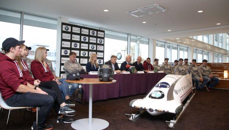 Latvijas olimpiskā sezona bobslejā un skeletonā: jauna, laba tehnika un uzsvars uz Phjončhanu