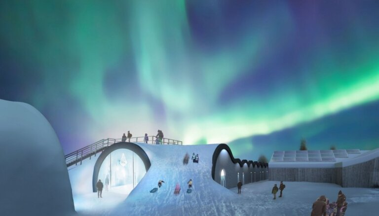 Zviedri izdomājuši, kā leģendāro Ledus viesnīcu pasargāt no izkušanas vasarā