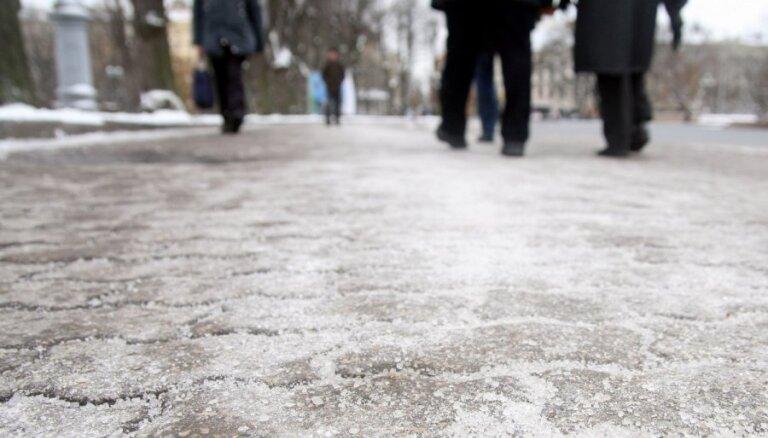 В понедельник ожидается снегопад, возможен ледяной дождь