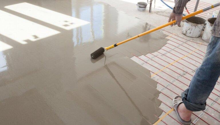 Kā gudri ierīkot silto grīdu mājoklī