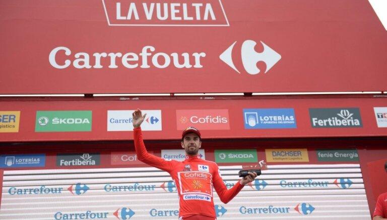 Spānis Erada negaidīti kļūst par 'Vuelta a Espana' velobrauciena kopvērtējuma līderi