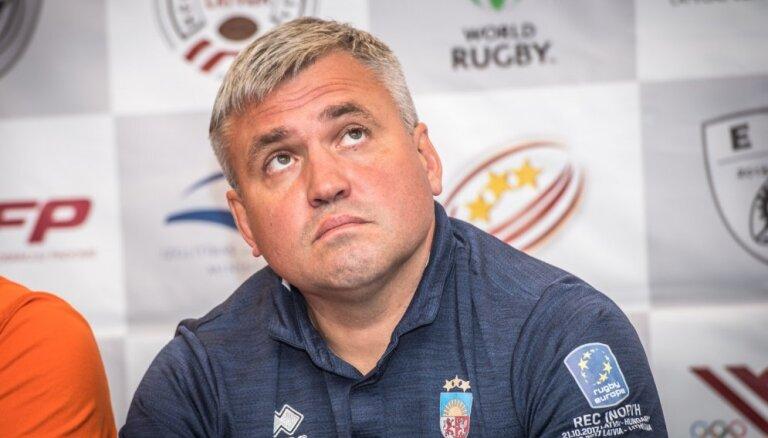 Regbija bardaks: Latvijas valstsvienības trenerim nezinot, spēlētājus aicina uz izlasi