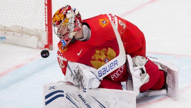 Krievijas vārtus spēlē pret Latviju sargās bijušais Gudļevska konkurents Vasiļevskis