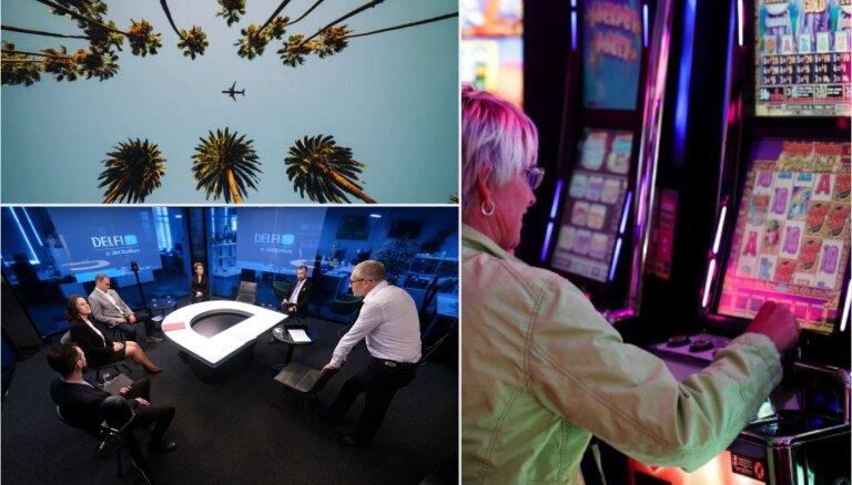 'Delfi plus': dzīvesbiedri, slīkstošais tūrisms un Rīga pret azartspēlēm