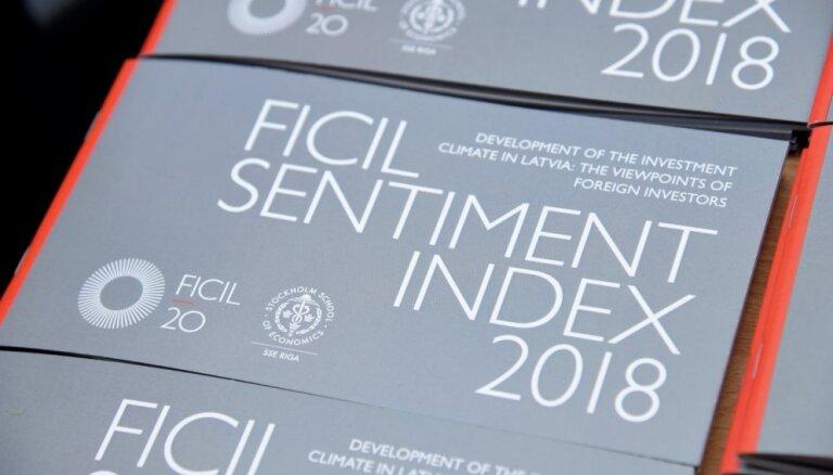 Ārvalstu investīciju vides indekss pērn nav mainījies, vērtējums – viduvējs