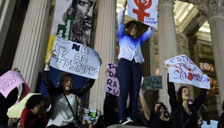 Reaģējot uz pusaudzes masveida izvarošanu, Brazīlijas prezidents sasauc krīzes sanāksmi