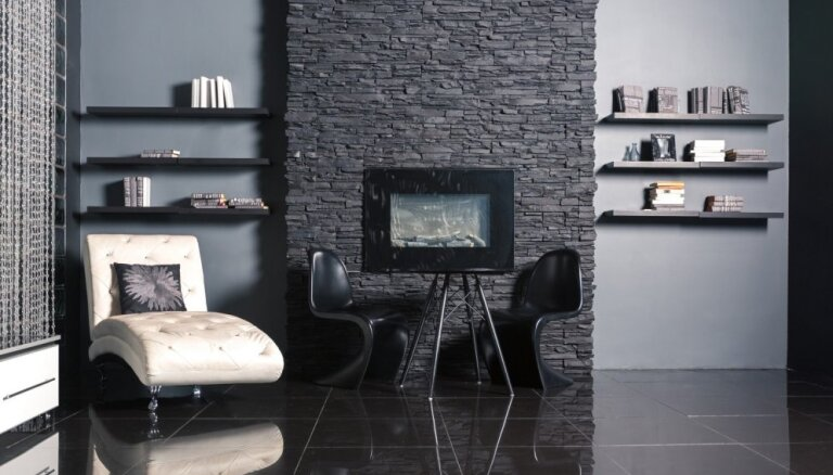 Istaba ogles melnumā – telpas, kuru interjerā izmantota melnā krāsa
