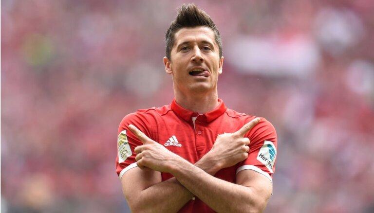 Levandovskis gatavs jauniem izaicinājumiem un grib atstāt 'Bayern'