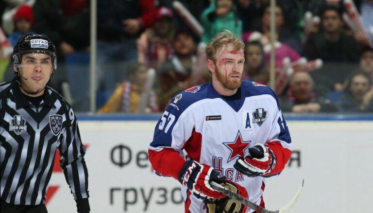 Pārtrūkst Maskavas CSKA komandas 12 uzvarētu KHL spēļu sērija