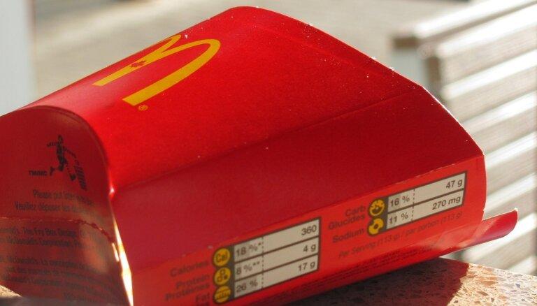 Nozagti 'McDonald's' klientu dati Taivānā un Dienvidkorejā