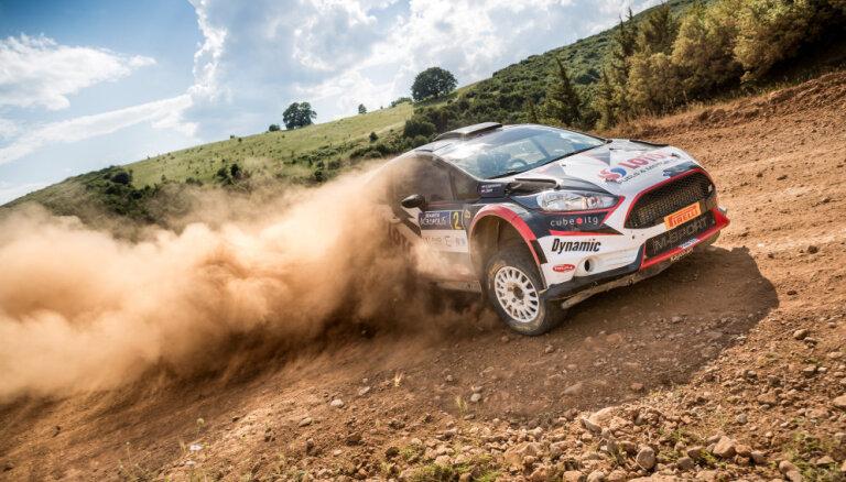 'Rally Liepāja' tiks kronēti visi 2017. gada Eiropas un Latvijas čempioni