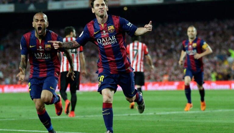Очередной шедевр Месси в финале Кубка Испании (это надо видеть)