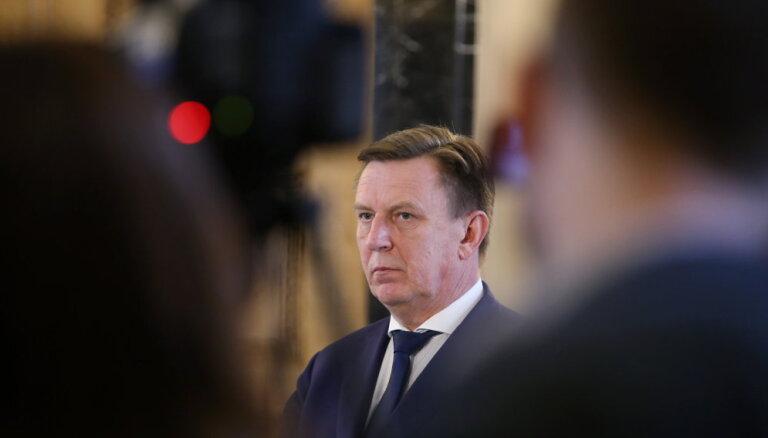 """Кучинскис не исключает повторных выборов в Сейм и обещает не брать """"Согласие"""" в правительство"""