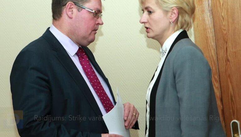 Raidījums: Strīķe varētu kandidēt pašvaldību vēlēšanās Rīgā