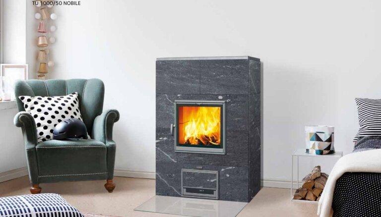 Astoņi iemesli, kāpēc Tulikivi krāsnis ir labākais siltums jūsu mājām